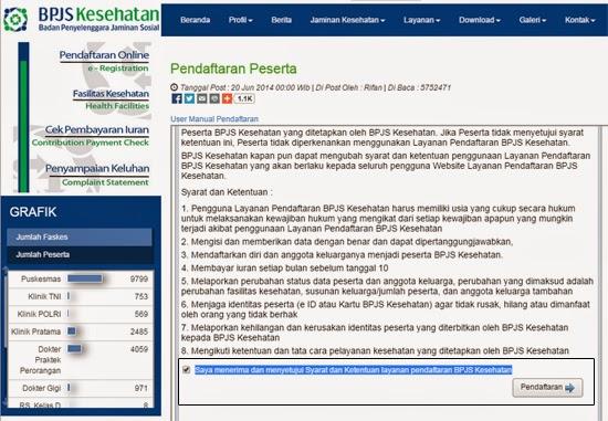 Cara Daftar BPJS Kesehatan Online