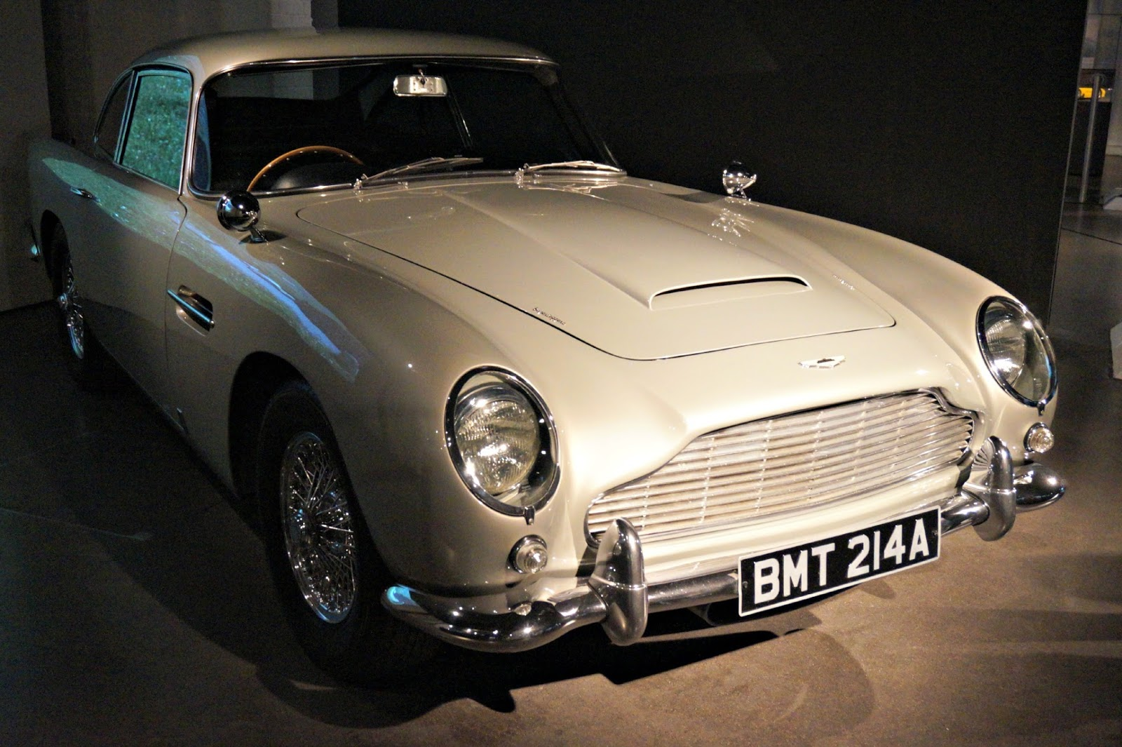 DB7 cars at James Bond Car Exhibition