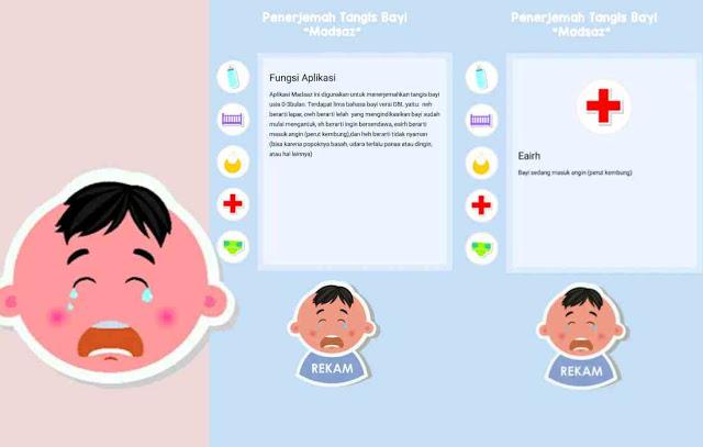 Download Aplikasi Terjemahan Tangisan Bayi dengan Mendeteksi Suara Bayi Nangis