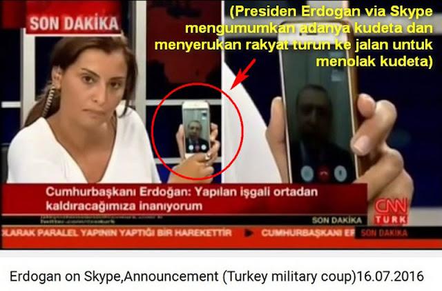 Ponsel milik penyiar CNN Turki yang 'Gagalkan' kudeta ditawar Rp 3,5 Miliar