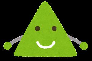 三角形のキャラクター1