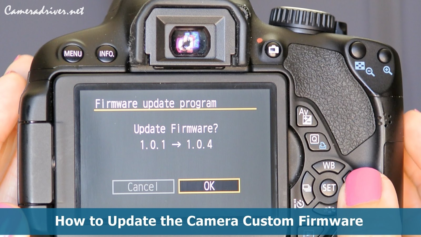 Camera Custom Firmware