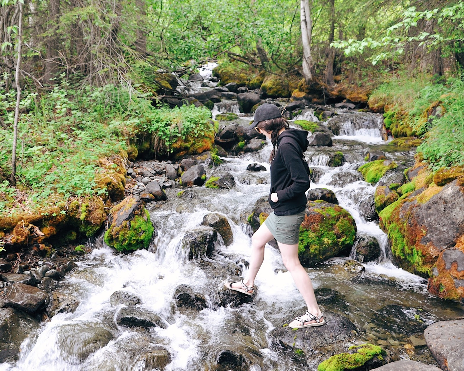 anchorage summer inspiration outdoor ootd