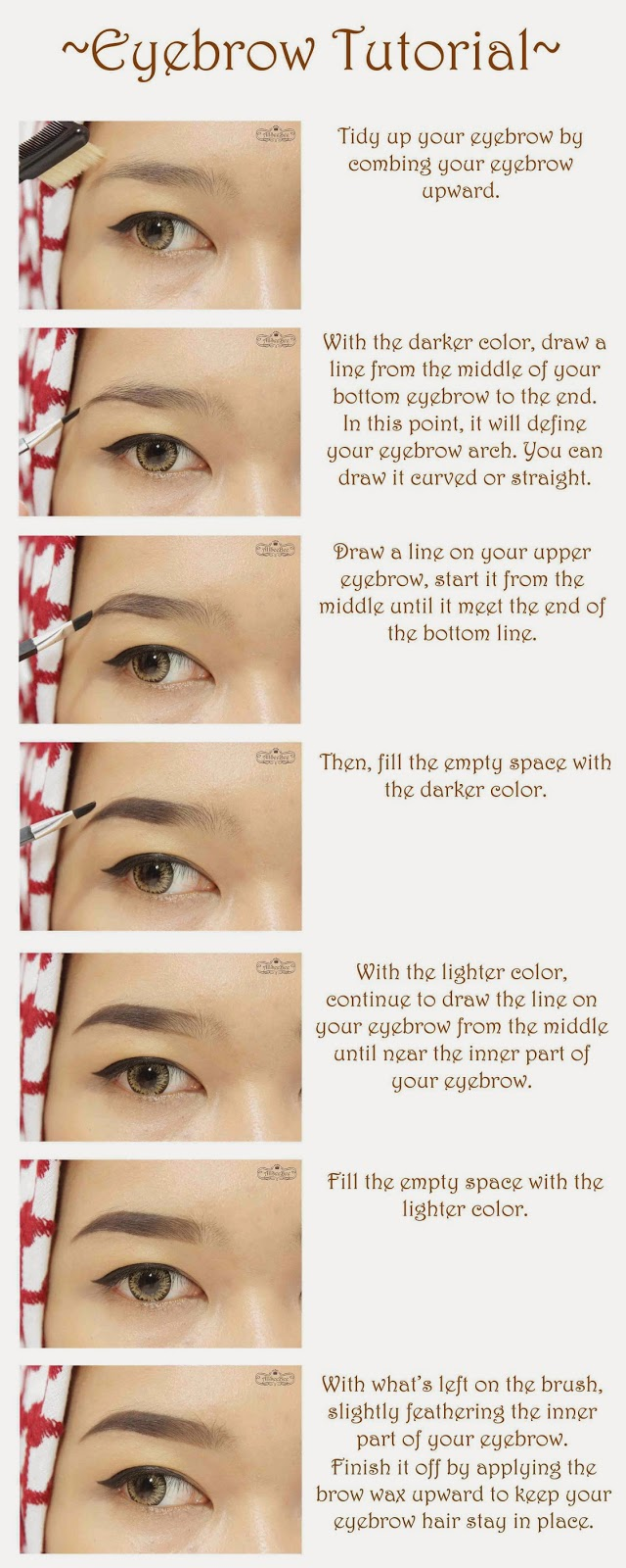 Wet N Wild Ultimate Brow Kit In Ash Brown Review Eyebrow Tutorial Oh Yeah One Important Thing If Youre Going To Try This Method Is That Wipe The Brush With Clean Tissue Before You Apply Lighter Color