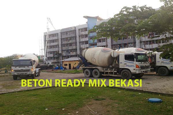 HARGA BETON READY MIX BEKASI 2021