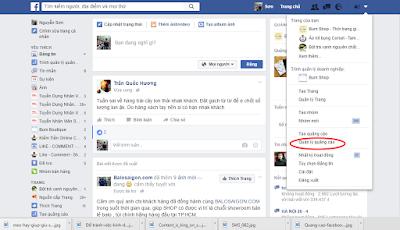 Facebook insight trong quang cao Facebook