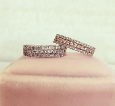 Mens Princess Cut Diamond Wedding Bands