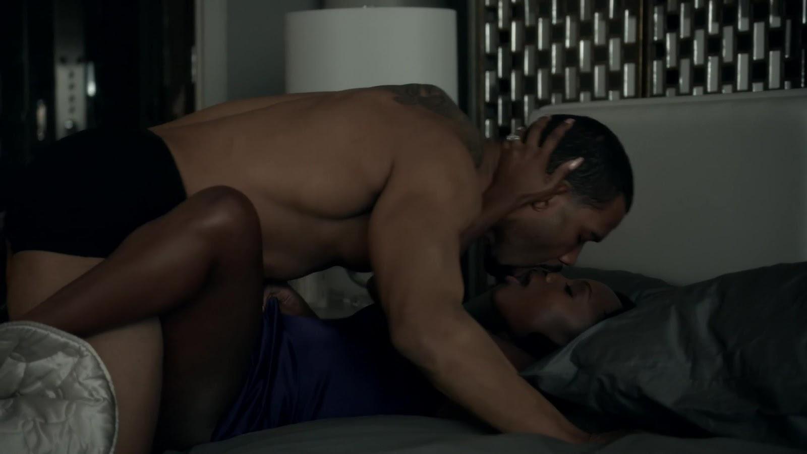 Auscaps Omari Hardwick Nude In Power 1-01 -7003