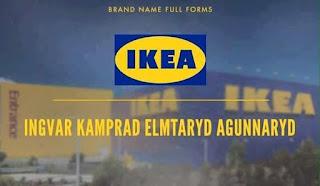 Logo IKEA - Ingvar Kamprad Elmtaryd Agunnaryd