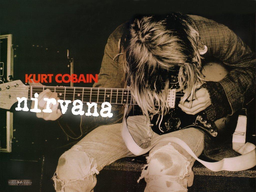 Grunge Girl Wallpaper Kurt Cobain