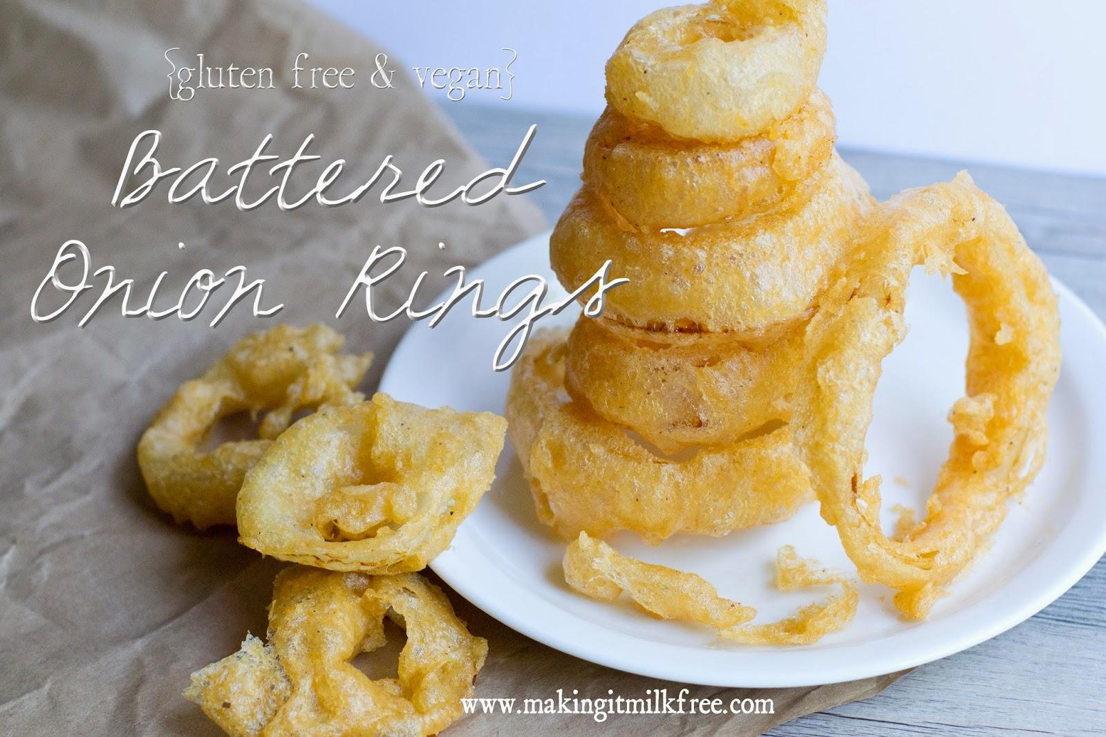 #vegan #glutenfree #onion_rings #sides