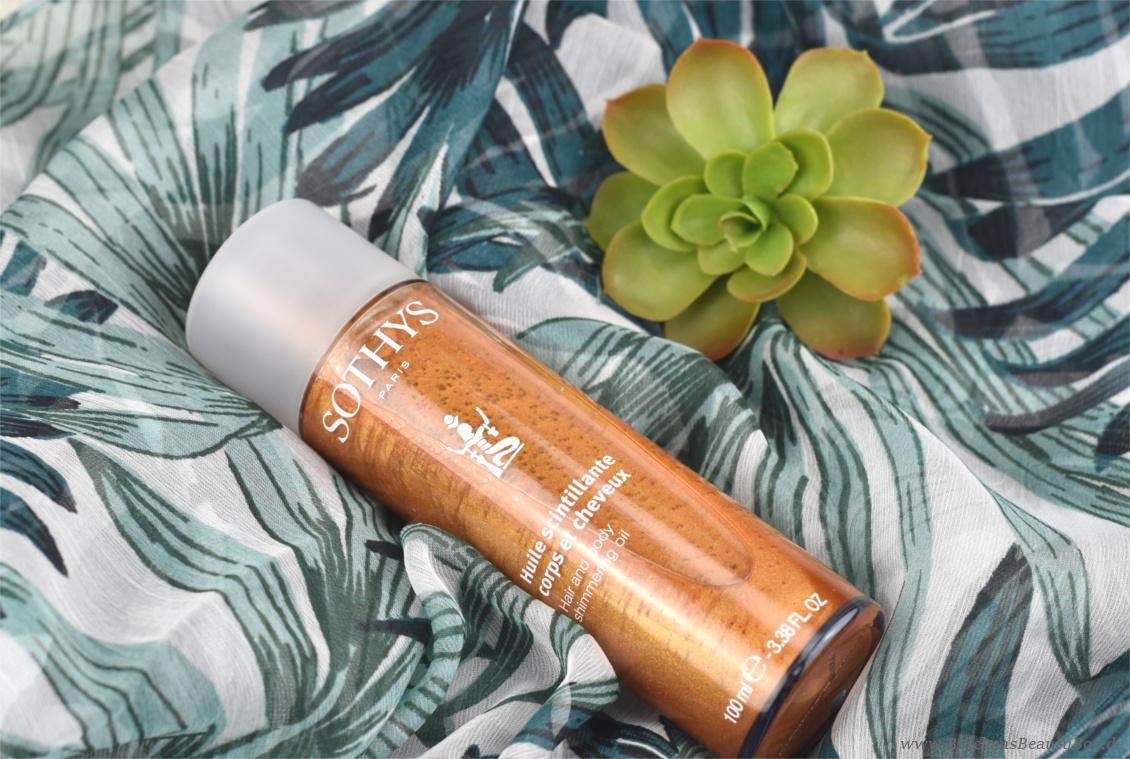 Sothys Box Sommer Edition - Haar - und Körperpflegeöl mit Schimmer