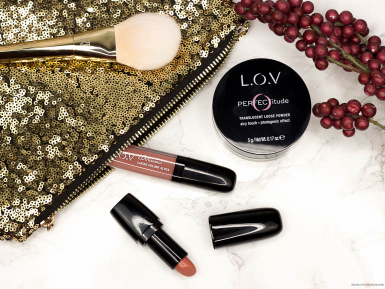 L.O.V Lipstick, Lipgloss und Translucent Loose Powder