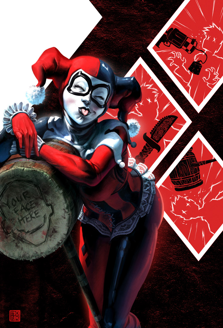 Gangsta And Harley Quinn