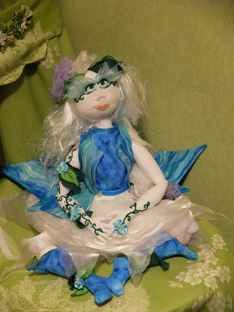 handmade, вышивка, из ткани, кукла, ручная работа, текстильная шарнирная кукла, узор, шарнирная кукла