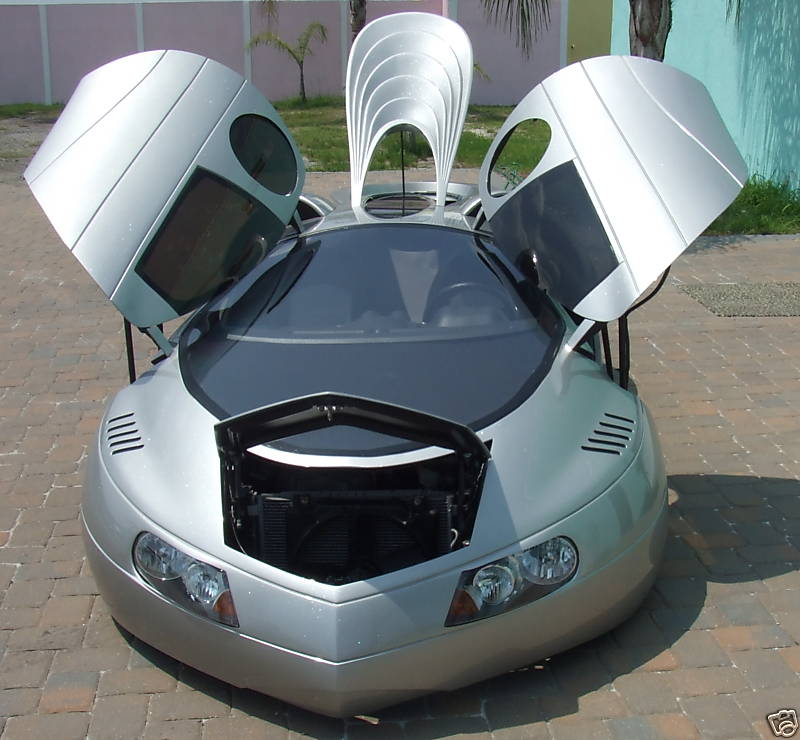 The Extra Terrestrial Vehicle Or Etv We Re Not Even Kidding That S Car Official Name Is A Futuristic Looking Custom Build Created By Mike Vetter