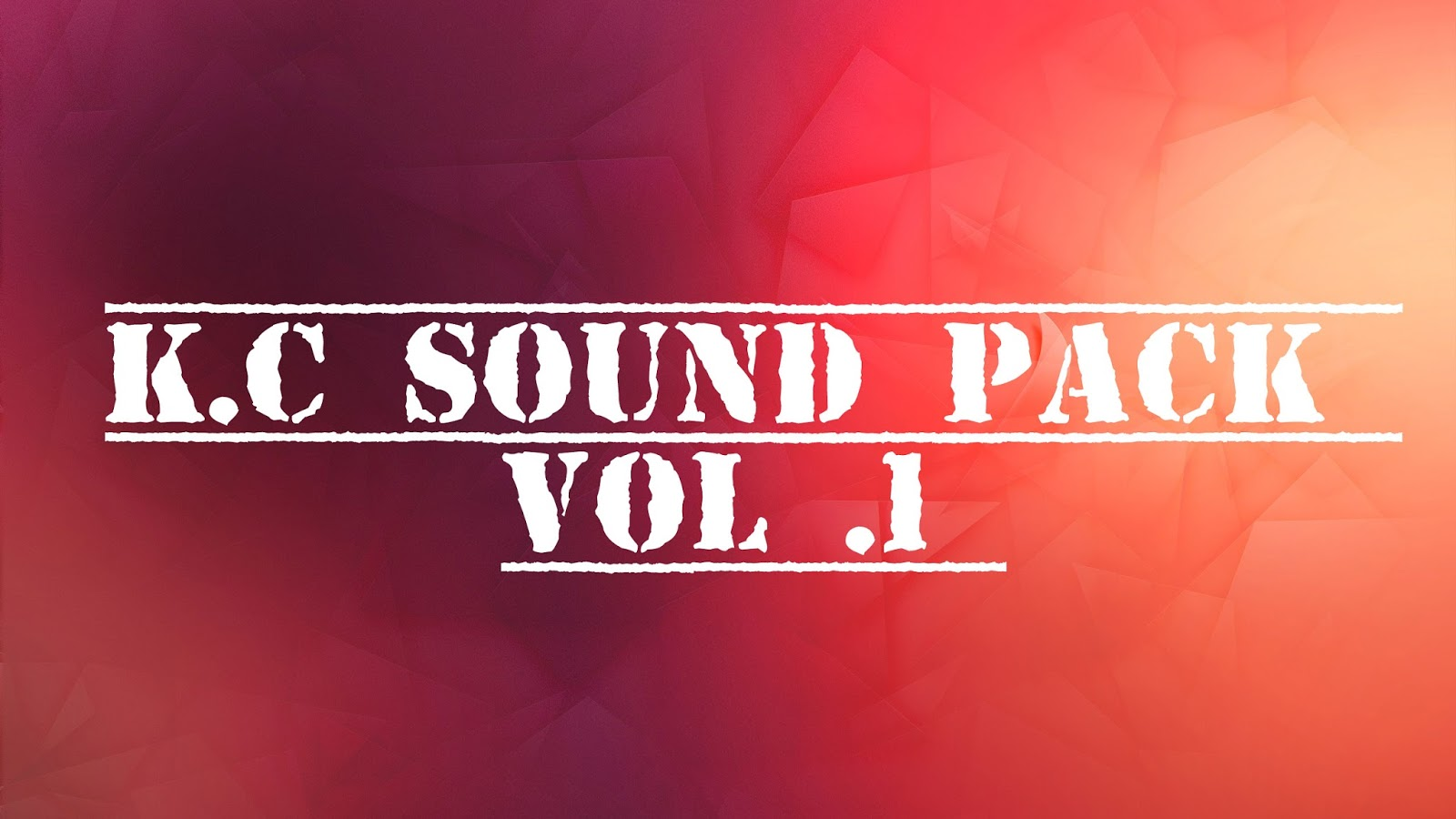 K C Sound Pack Vol 1 ( Torrent ) - DeejayTon