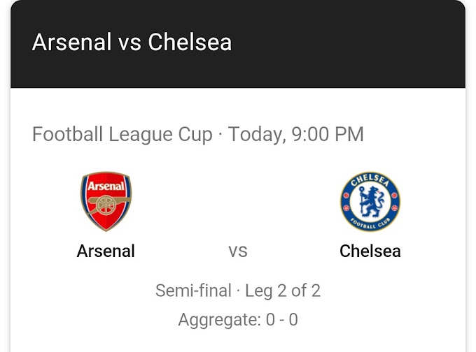 Predict and Win Promo: Arsenal Vs Chelsea