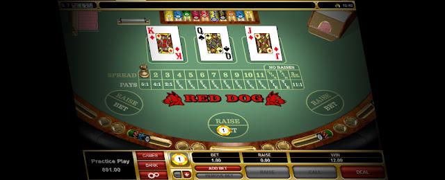 Cómo se juega al Red Dog Poker en apuestas y casinos