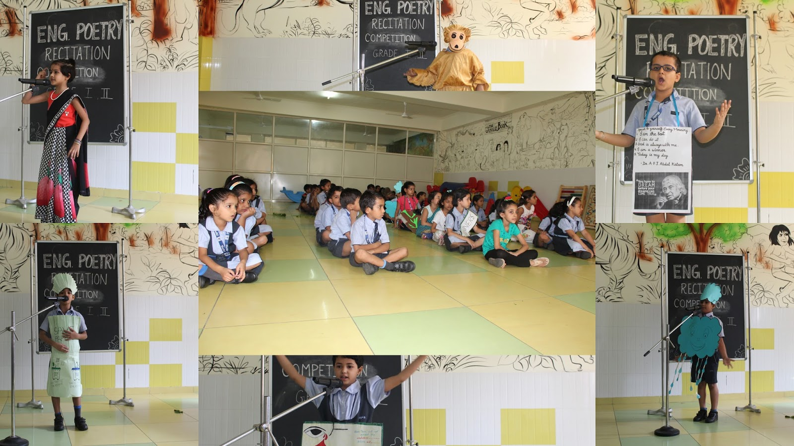 English Poetry Recitation Competition | RPS Dharuhera Junior