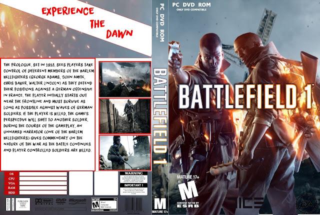 Capa Battlefield 1 PC