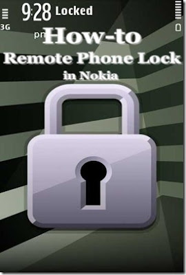 How to activate Remote Phone Locking in Nokia