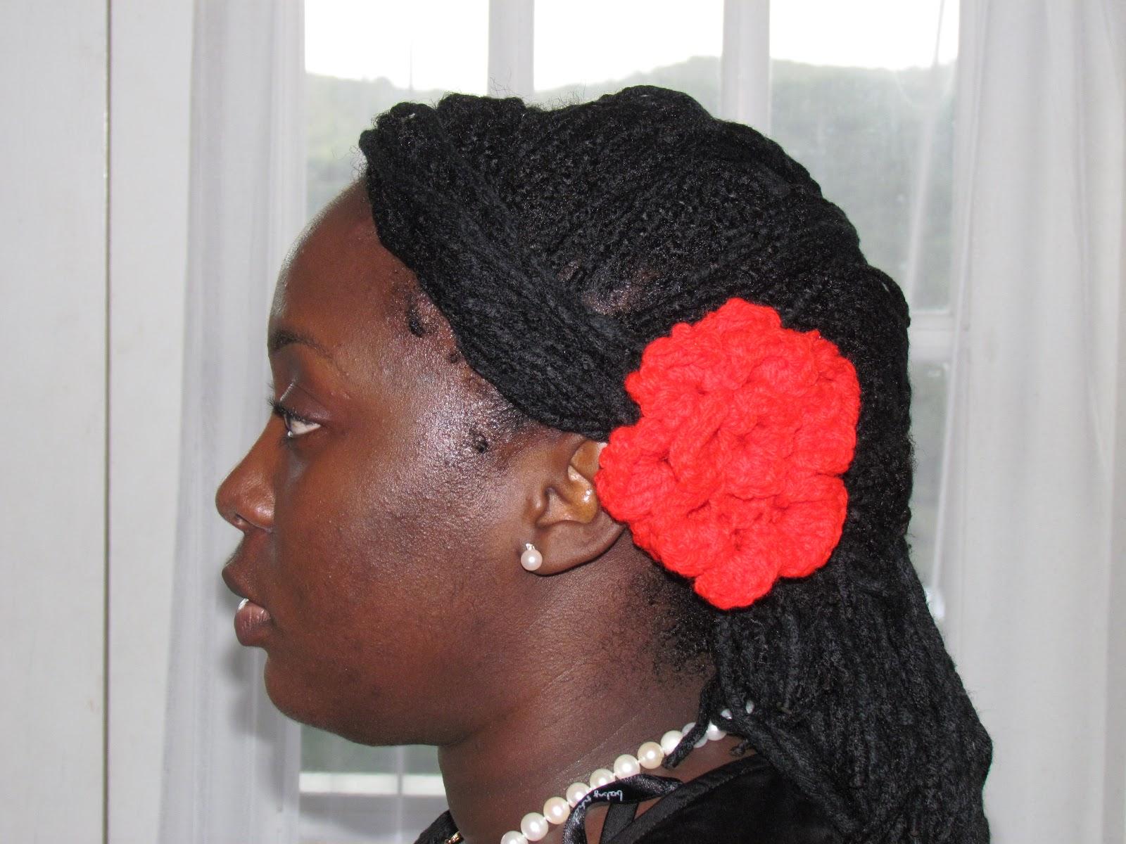 Yarn Braids Hairstyles: Hairstyles: Yarn Braids- Fishtail Variation