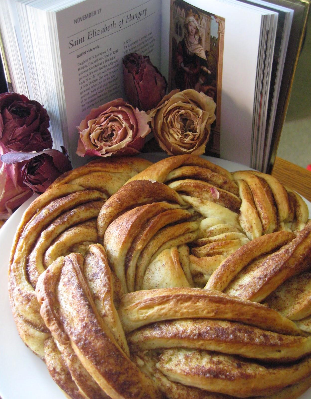 catholic cuisine rose bread for st elizabeth of hungary. Black Bedroom Furniture Sets. Home Design Ideas