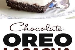 No Bake Chocolate Oreo Lasagna