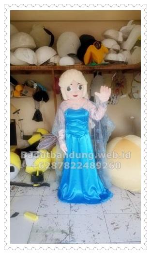gambar kostum badut frozen karakter elsa terbaru