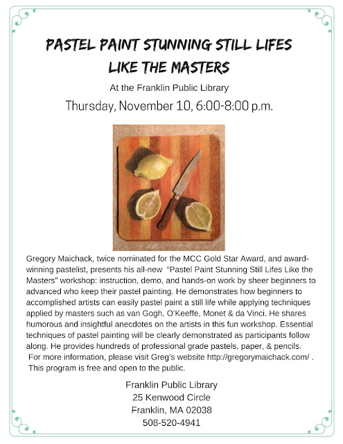 Franklin Library: Pastel Paint Stunning Still Lifes Like the Masters
