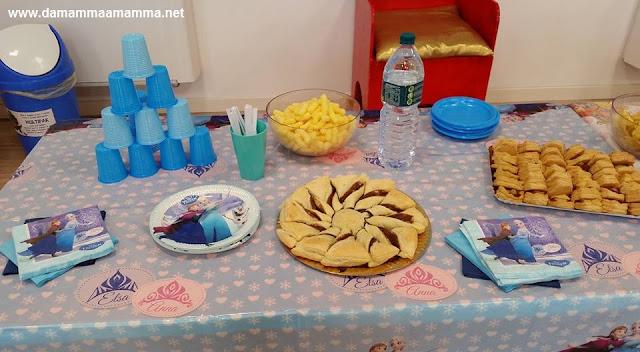 La festa di compleanno a tema Frozen