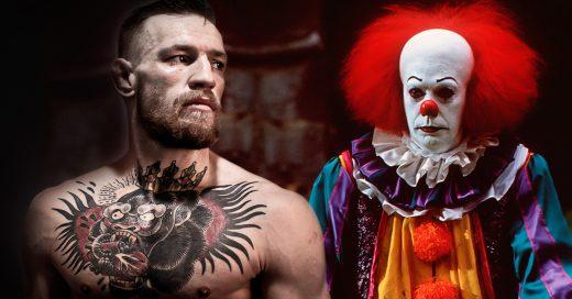 Conor McGregor qué hará si encuentra un payaso malvado