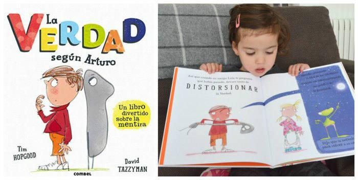 cuentos infantiles verdad según artuo, para hacer pensar, reflexionar, sentido ética moral niños