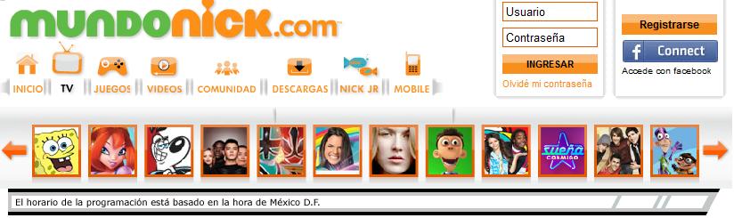 caja registradora transatlántico La cabra Billy  Winx ya aparece en la pagina de Nick en México! - Winx Club All