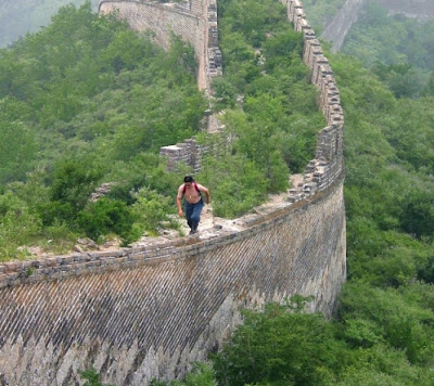 La gran muralla China, en peligro