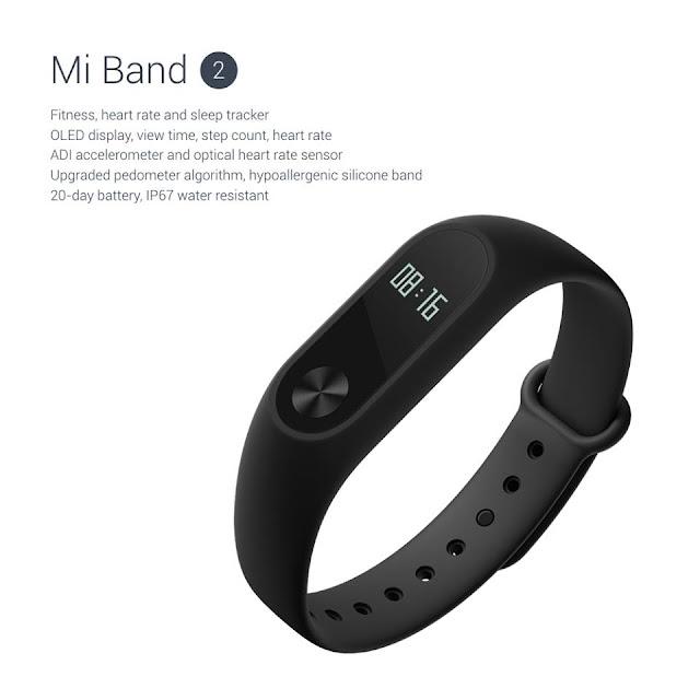 Xiaomi Mi Band 2 - Informações