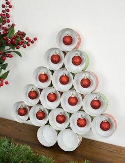 árbol navidad reciclado