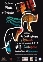 CARTEL FIESTAS CARTHAGINESES Y ROMANOS 2011