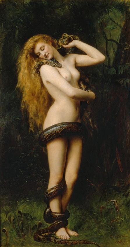 Lilith, la prima donna e madre dei demoni Lilith_(John_Collier_painting)