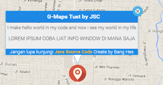 Menghapus Background Putih Info Window Pada Google Maps