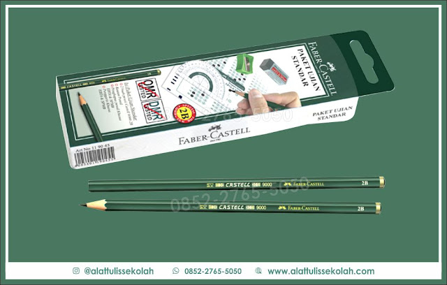 harga pensil faber castle 2b, 0852-2765-5050