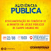 Audiência Pública para debater regulamentação de comércio de alimentos em vias públicas acontece nesta quarta