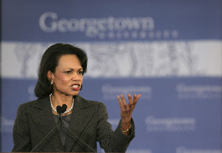 Condoleezza Rice was one of the first female members admitted to Augusta National Golf Club