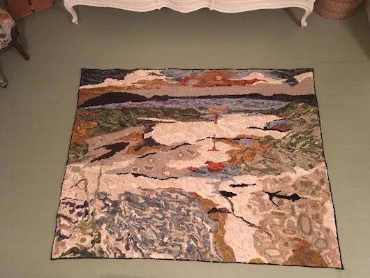 Tide Pool - Rug Hooking