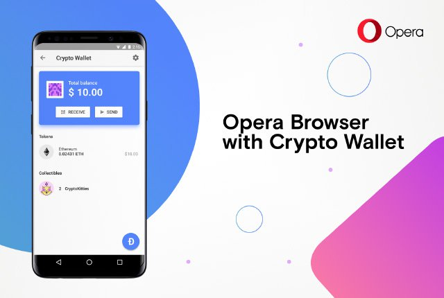 built-in cryptocurrency wallet -opera