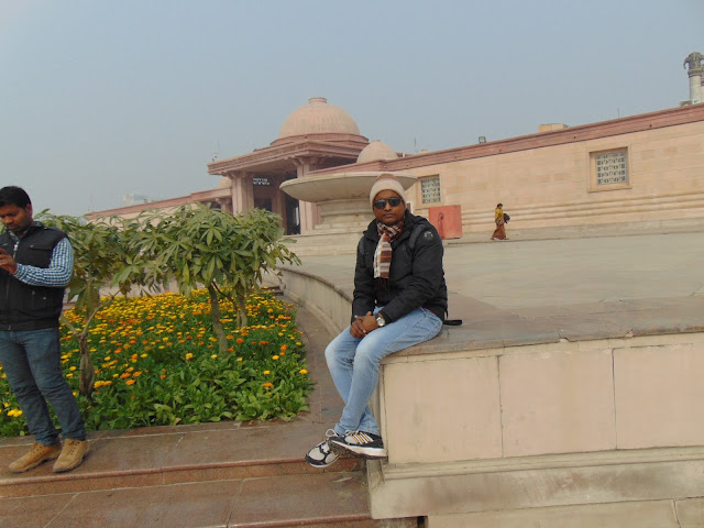 view from ambedkar park