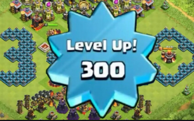 Cara Cepat Menaikan Level Up Clash of Cclans