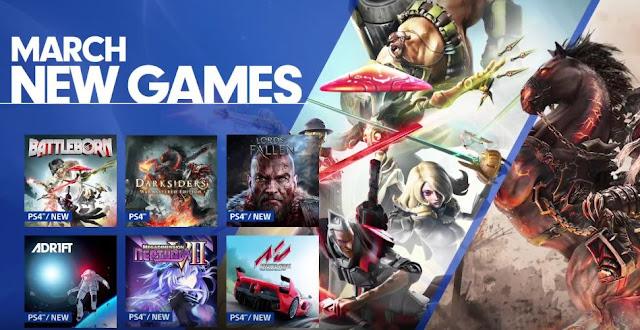 الكشف عن قائمة الألعاب الجديدة لمشتركي خدمة PlayStation Now في شهر مارس