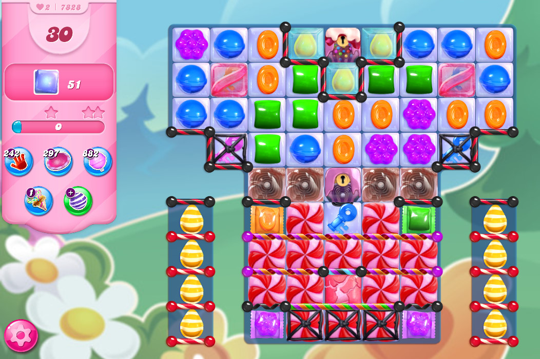 Candy Crush Saga level 7828